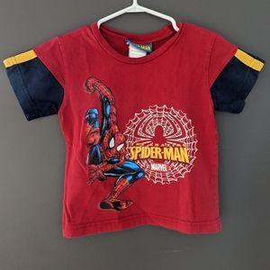 Marvel Spiderman red t-shirt